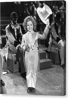 The Bowery Princess - Shirley Temple Canvas Print by MMG Archives