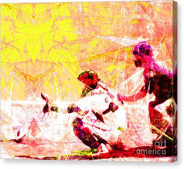 The Boys Of Summer 5d28228 The Catcher V2 Canvas Print by Wingsdomain Art and Photography