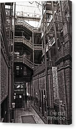 The Bradbury Building Canvas Print by Gregory Dyer