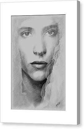 The Bride  Canvas Print by Joaquin Abella