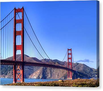 The Bridge Canvas Print by Bill Gallagher