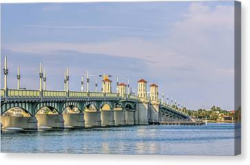The Bridge Of Lions Canvas Print by Rob Sellers