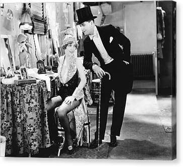 The Broadway Melody, From Left Bessie Canvas Print by Everett