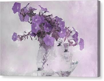 The Broken Branch - Digital Watercolor Canvas Print by Sandra Foster