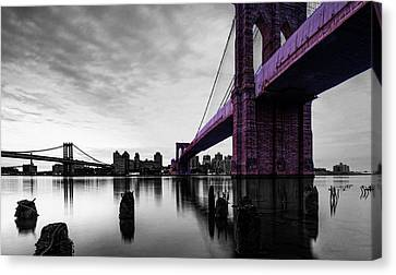 The Brooklyn Bridge Canvas Print by Brian Reaves