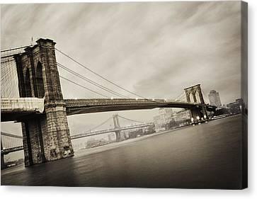 The Brooklyn Bridge Canvas Print by Eli Katz