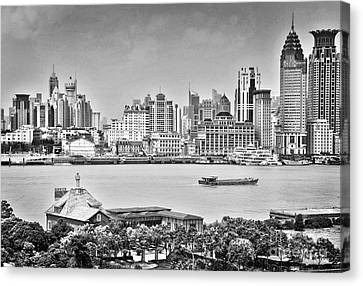 The Bund Canvas Print by Delphimages Photo Creations