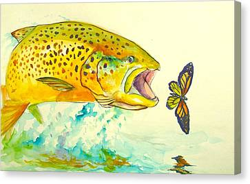 The Butterfly Effect  Canvas Print by Yusniel Santos