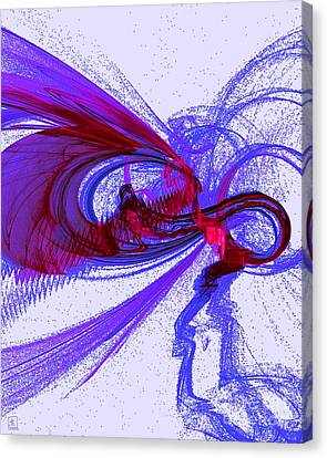 The Buzz Canvas Print by Jeanne Liander