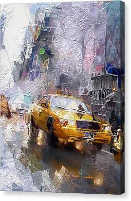 The Cab  Canvas Print by Stefan Kuhn