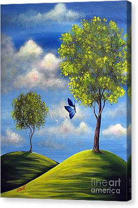 The Call Of Spring By Shawna Erback Canvas Print by Shawna Erback