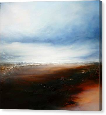 The Calling Shores Canvas Print by Simon Kenny