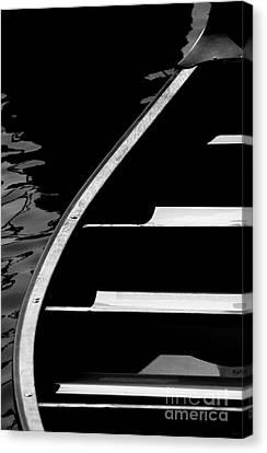 The Canoe Canvas Print by Jeff Breiman