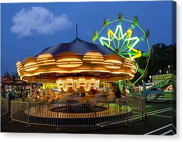 The Carnival Is In Town Canvas Print by Susan Candelario