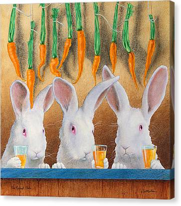 The Carrot Club... Canvas Print by Will Bullas