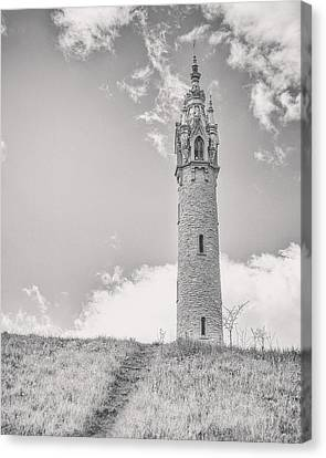 The Castle Tower Canvas Print by Scott Norris