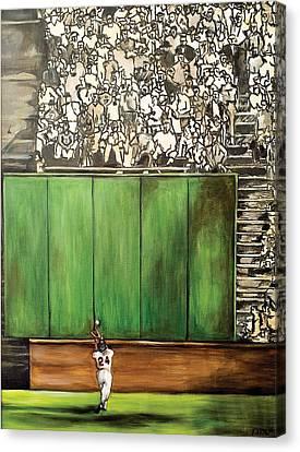 The Catch Canvas Print by Katia Von Kral