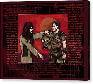 The Centurion Canvas Print by Christopher Korte