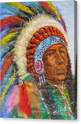 The Chief Canvas Print by Mohamed Hirji