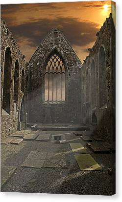 The Church Canvas Print by Brendan Quinn