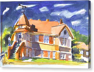 The Church On Shepherd Street II Canvas Print by Kip DeVore