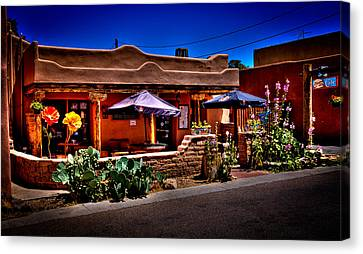 The Church Street Cafe - Albuquerque New Mexico Canvas Print by David Patterson