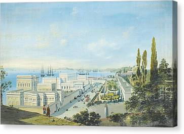 The Ciragan Palace Canvas Print by Celestial Images