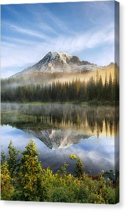 The Clearing Canvas Print by Ryan Manuel