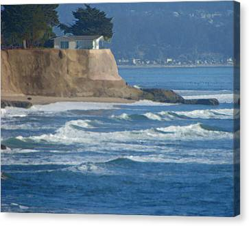 The Cliff House Canvas Print by Deana Glenz