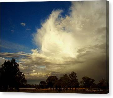 The Cloud - Horizontal Canvas Print by Joyce Dickens