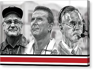 The Coaches Canvas Print by Bobby Shaw