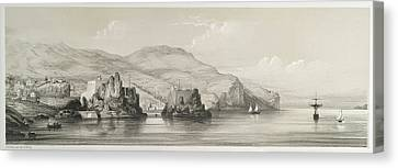 The Coast Of Madeira Canvas Print by British Library