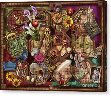 The Collection Canvas Print by Ciro Marchetti