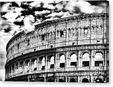 The Colosseum Canvas Print by John Rizzuto