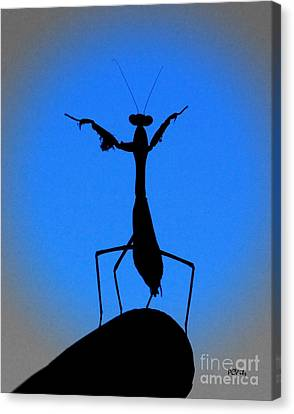 The Conductor Canvas Print by Patrick Witz