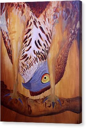 The Corrupted Predator  Canvas Print by Amit Thakurta