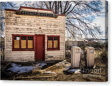The Country Corner Canvas Print by Bob and Nancy Kendrick