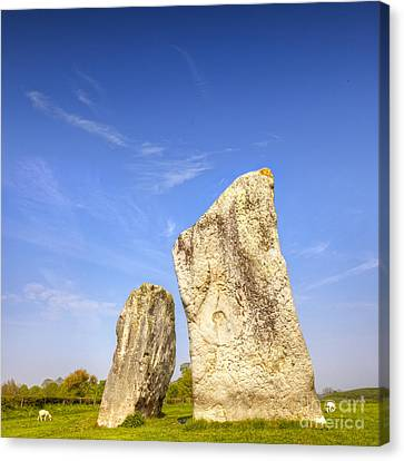 The Cove Avebury Wiltshire Canvas Print by Colin and Linda McKie