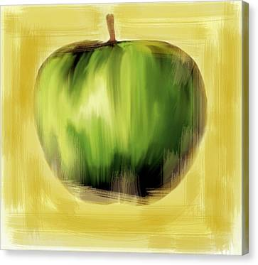 The Creative Apple The Beatles Canvas Print by Iconic Images Art Gallery David Pucciarelli