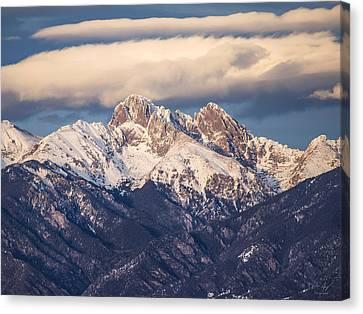 The Crestones Canvas Print by Aaron Spong