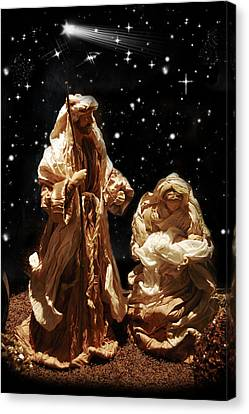 The Crib Canvas Print by Gina Dsgn
