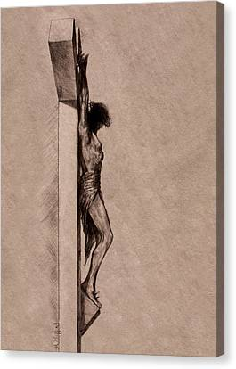 The Cross 2 Canvas Print by Derrick Higgins