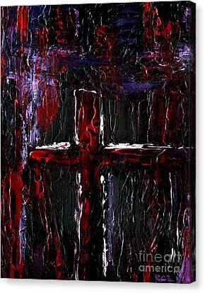 The Crossroads #1 Canvas Print by Roz Abellera Art
