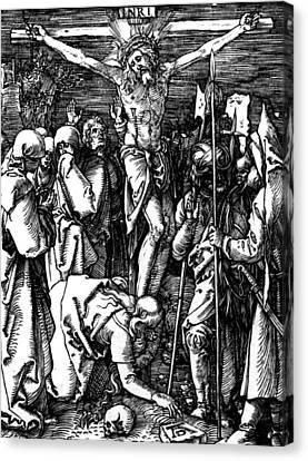 The Crucifixion Canvas Print by Albrecht Durer