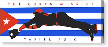 The Cuban Missile Canvas Print by Ron Regalado