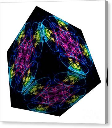 The Cube 13 Canvas Print by Steve Purnell