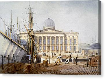 The Customs House And Revenue Building Canvas Print by William Gavin Herdman
