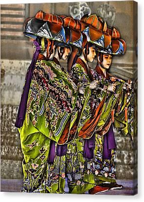 The Dance Canvas Print by Karen Walzer