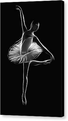 The Dancer Canvas Print by Steve K