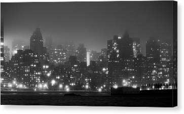 The Dark And Stormy Night Canvas Print by JC Findley